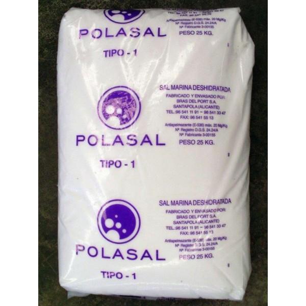 Sal tipo 1 saco 25 kg - Sacos de sal para descalcificador ...